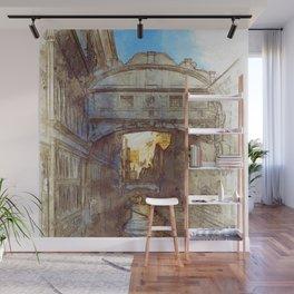 Venezia Ponte di Sospiri  - SKETCH Wall Mural