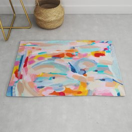 Colorful Abstract Painting  Rug