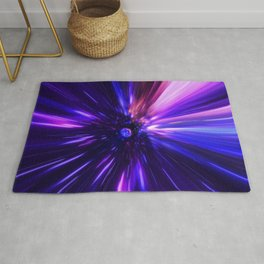 Interstellar, time travel and hyper jump in space Rug