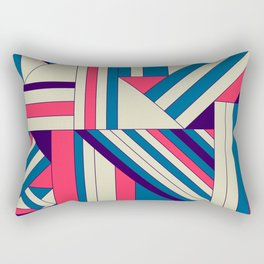 Geo1. Rectangular Pillow