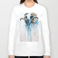 sheep Long Sleeve T-shirts featuring Sheep by Slaveika Aladjova