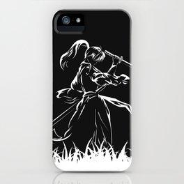 Samurai Kenshin Himura iPhone Case