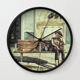 Waiting game Wall Clock