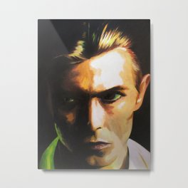 Bowie Tribute Metal Print