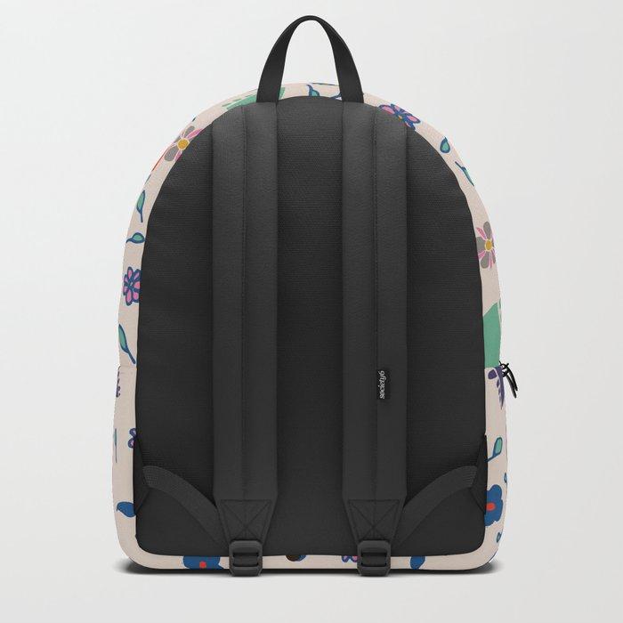 Floral spring Backpack