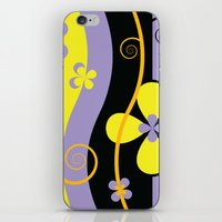 blossom iPhone & iPod Skins featuring Blossom by Graphic Tabby