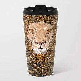 Lion Pride  Metal Travel Mug