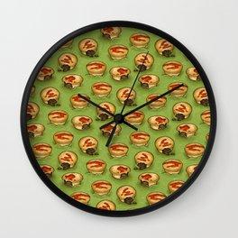 Adelaide Pie Floater, Pie in mushy peas Wall Clock