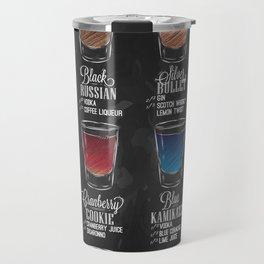 Shot menu chalk Travel Mug