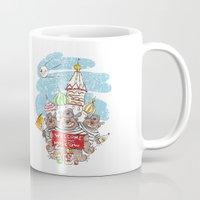 russian Mugs featuring True Russian! by Tatiana Ivchenkova