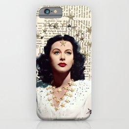 Hedy Lamarr iPhone Case