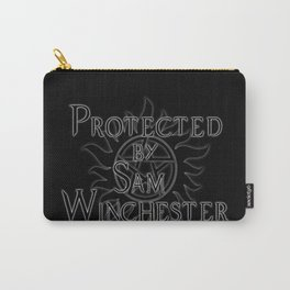 Protected by Sam Winchester Carry-All Pouch