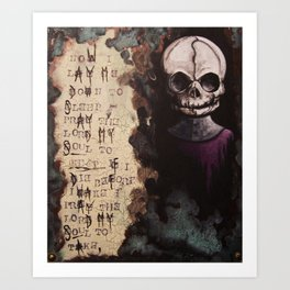 The Forgotten Ones by Macabre Art Print