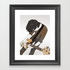 Guitarist Framed Art Print