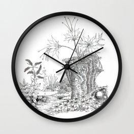 Quiet Conversation Wall Clock
