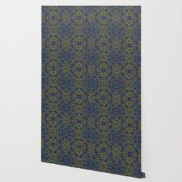 Tile Design Peacock Wallpaper