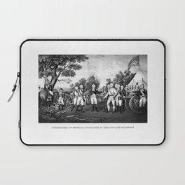 The Surrender of General Burgoyne Laptop Sleeve