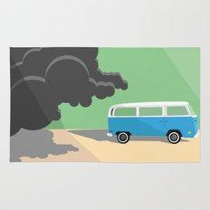 Dharma Van vs Smoke Monster Rug
