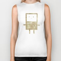 bmo Biker Tanks featuring BMO by Laela's Heart