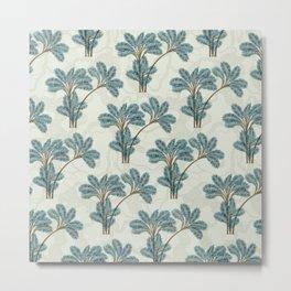 Exotic Palms No. 004 / Boho Tropical Palm Trees Metal Print