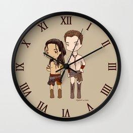 Chibi Nagron (Agron & Nasir, Spartacus) Wall Clock