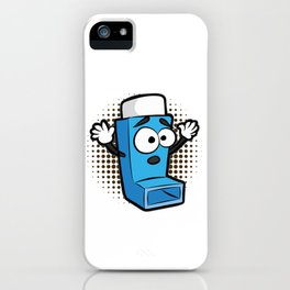 ASTHMA PLAYING LIFE ON HARD MODE Inhaler GIFT iPhone Case