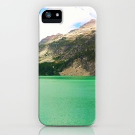 Turquoise Escape iPhone Case