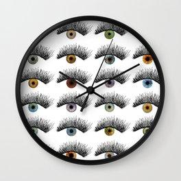Hypnotic Eyes Wall Clock
