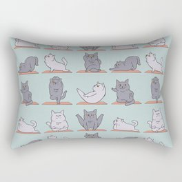 British Shorthair Cat  Yoga Rectangular Pillow