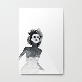 Woman XY 222 Metal Print