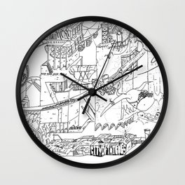 City Of Thieves Wall Clock