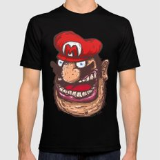 Mario Mens Fitted Tee LARGE Black