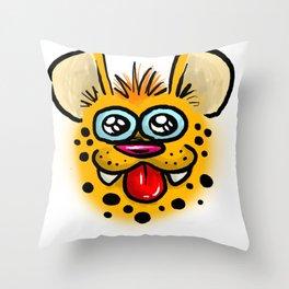 GIGGLES Throw Pillow