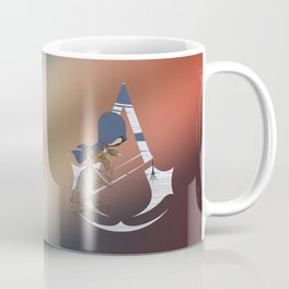Chibi Assassin's Creed Paris Coffee Mug