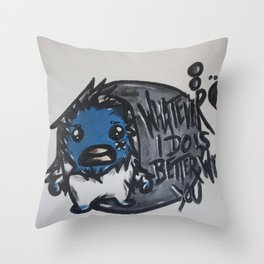 Mugshots: Yeti Throw Pillow