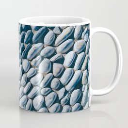 Black and White Pebble Coffee Mug