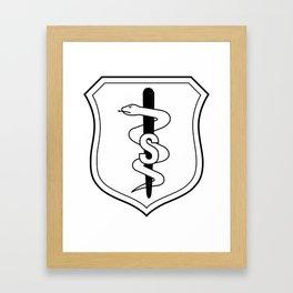 Medical Badge 2 Framed Art Print