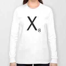 Scrabble Letter Tile - X Long Sleeve T-shirt