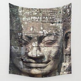 Bayon Temple Angkor Siem Reap Cambodia Wall Tapestry