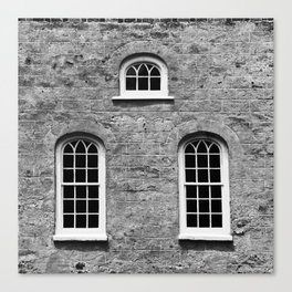 Windows Three Canvas Print