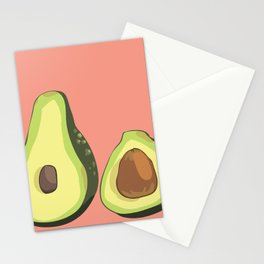 do u like avocados Stationery Cards