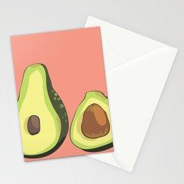 do u like avocados Stationery Cards