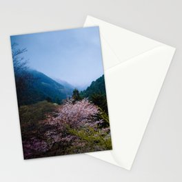 Japanese forest 3 Stationery Cards