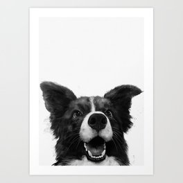 who's a good boy? Art Print