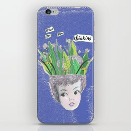 What Are You Thinking? Version 2 iPhone Skin