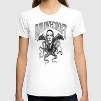 lovecraft T-shirts featuring H.P. LOVECRAFT by Bili Kribbs