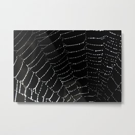 Diamond Necklaces Metal Print