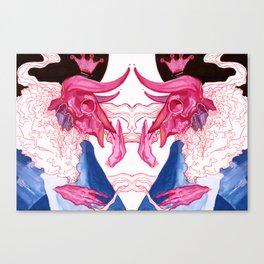 We, The Oxmen (Pink) Canvas Print