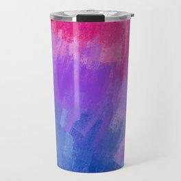 Bisexual Pattern (4) Travel Mug