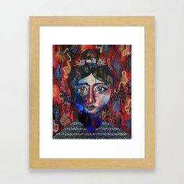 Min - South Korea Framed Art Print